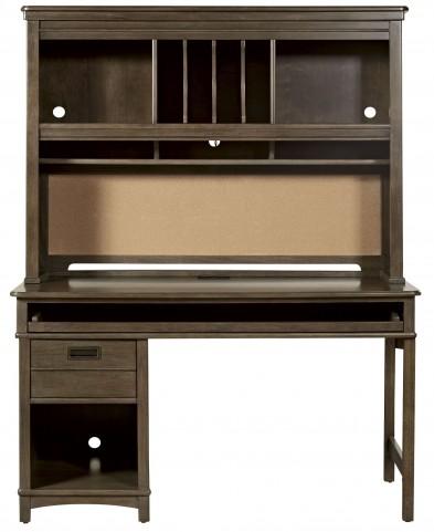 Varsity Jersey Desk With Hutch