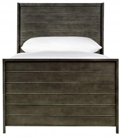 Varsity Jersey Metal Twin Panel Bed