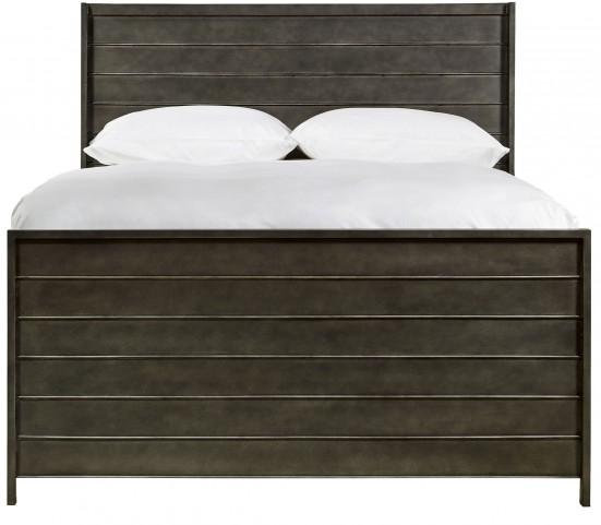 Varsity Jersey Metal Full Panel Bed