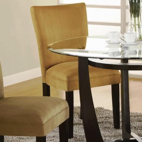 Castana Gold Side Chair Set of 2