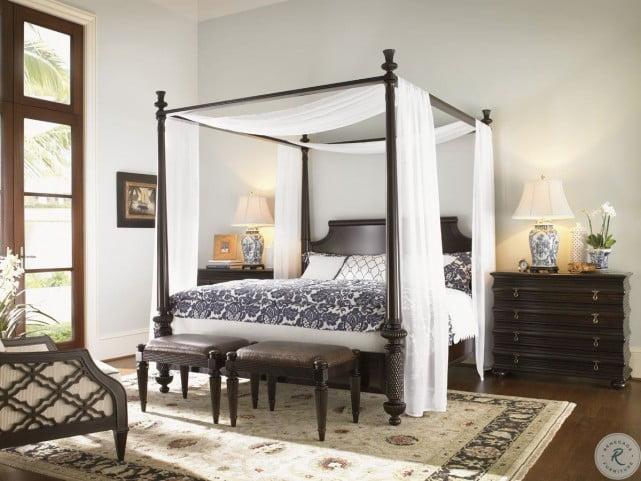 Royal Kahala Diamond Head Poster Canopy Bedroom Set