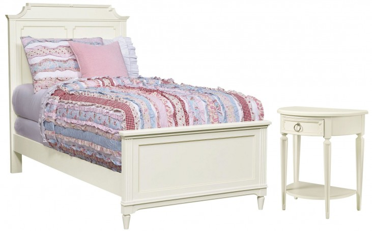 Clementine Court Frosting Youth Panel Bedroom Set