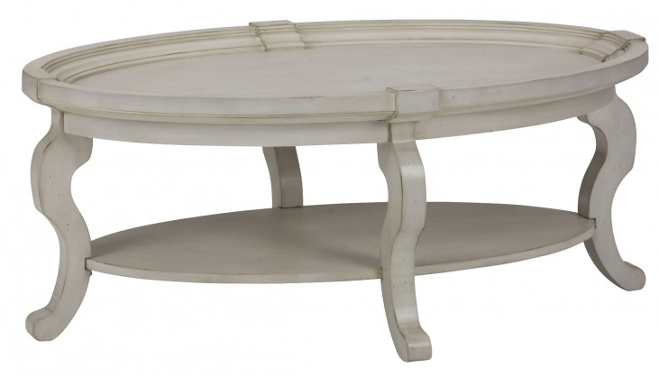 Sebastian Oval Cocktail Table