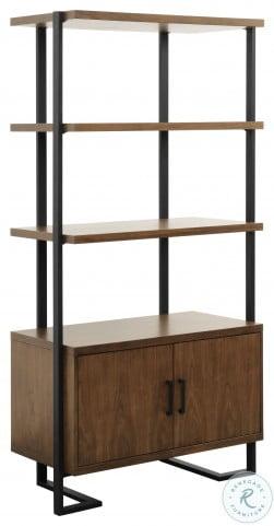 Sedley Dark Cherry Bookcase