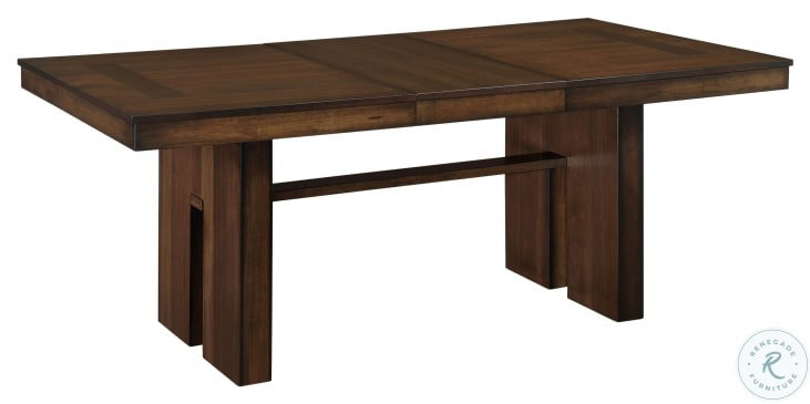 Sedley Walnut Rectangular Extendable Dining Table