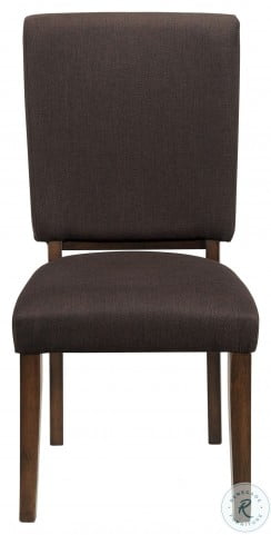 Sedley Walnut Side Chair Set of 2