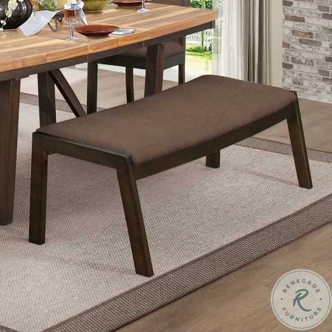 "Compson Brown 60"" Bench"