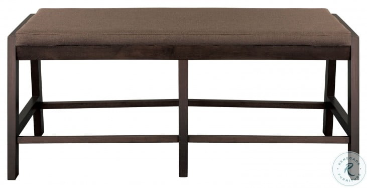 """Compson Brown 60"""" Counter Height Bench"""