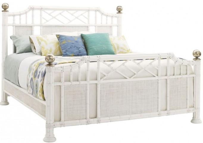 Ivory Key Pritchards Bay Cal. King Panel Bed