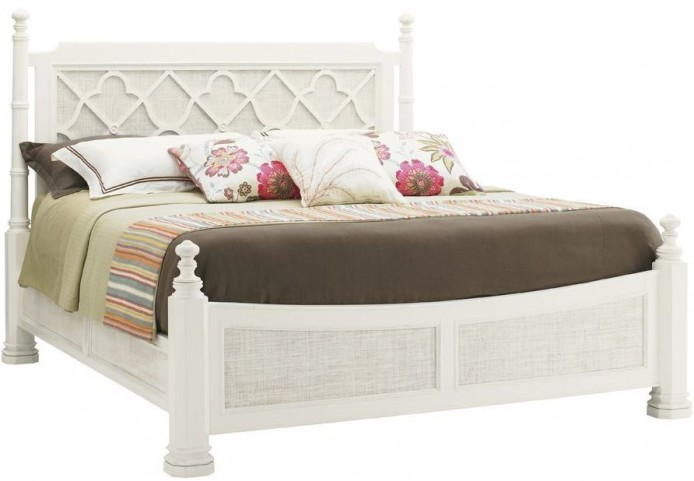 Ivory Key Southampton Queen Poster Bed