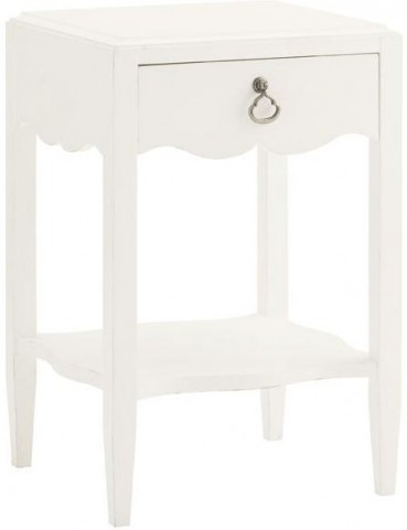 Ivory Key Water Street Bedside Table