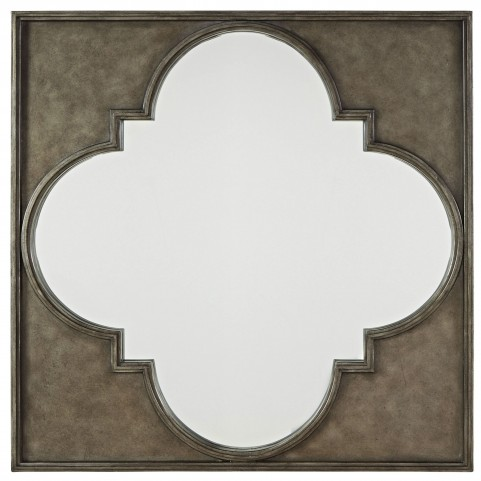 Curated Sojourn Metal Mirror