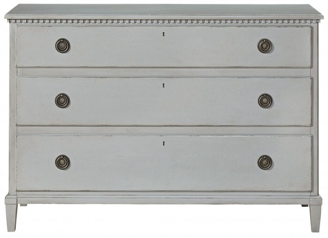 Curated Sojourn Gray Lake Drawer Dresser