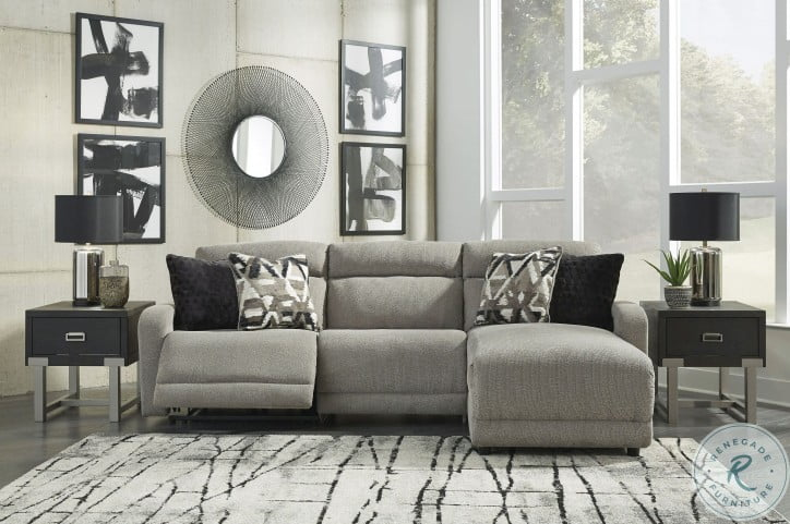Colleyville Stone RAF Power Reclining Sectional
