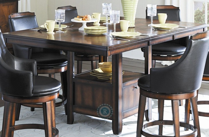 Bayshore Extendable Counter Height Table