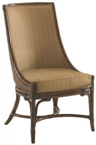 Landara Royal Palm Upholstered Side Chair
