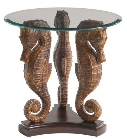 Landara Sea Horse Lamp Table