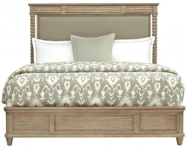 Hadley Rafter Queen Upholstered Platform Bed