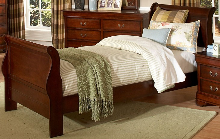Chateau Brown Twin Youth Panel Bed