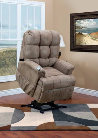 5500 Series Wall-a-Way Reclining Lift Chair - Stampede Mocha