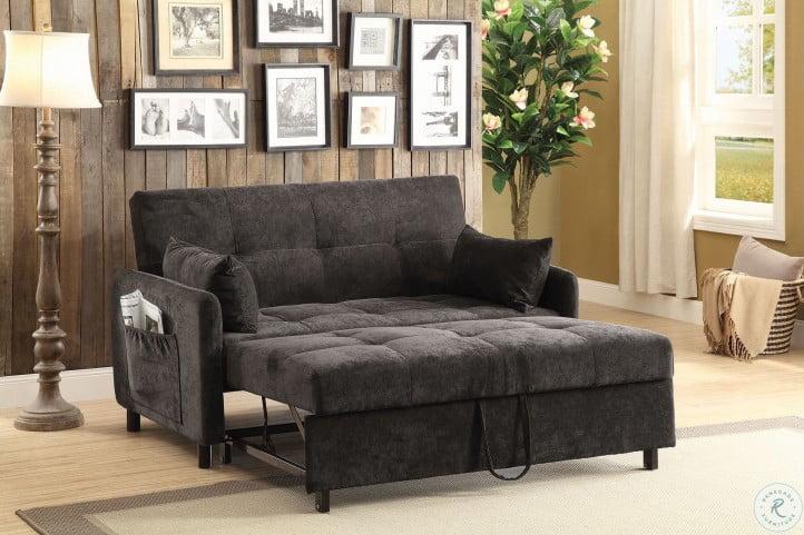 Pleasant Dark Brown Sofa Bed Inzonedesignstudio Interior Chair Design Inzonedesignstudiocom