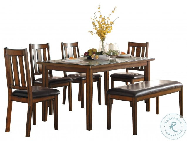 Delmar Espresso 6 Piece Dining Room Set