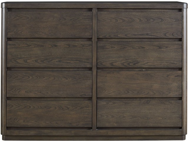 Curated Graphite Stain Roxbury Drawer Dresser
