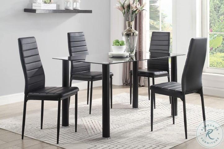 Florian Black Dining Room Set