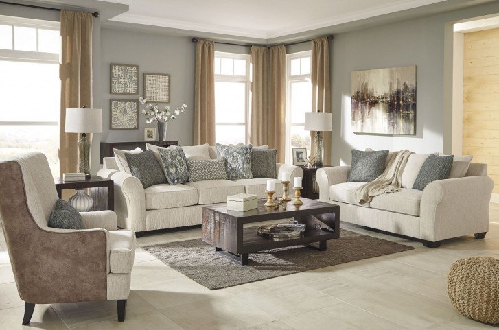 Silsbee Sepia Living Room Set