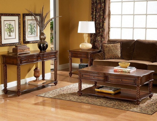 Trammel Occasional Table Set