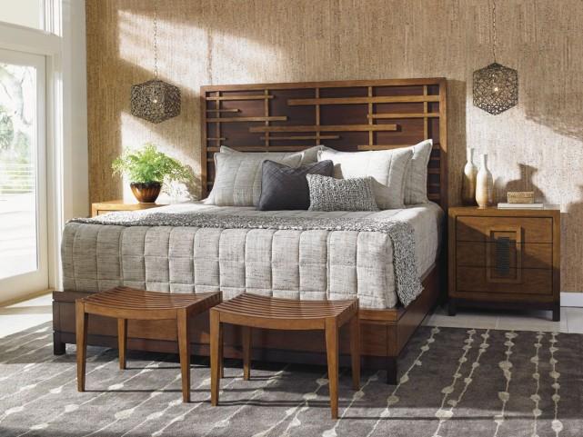 Island Fusion Shanghai Panel Bedroom Set