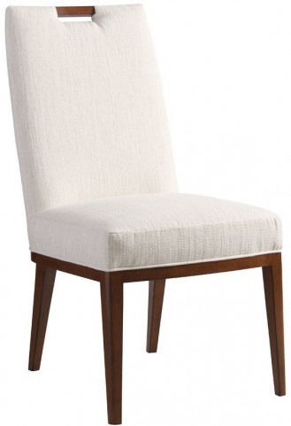 Island Fusion Coles Bay Off White Fabric Side Chair