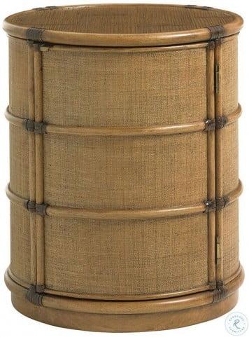 Twin Palms Cassada Drum Table