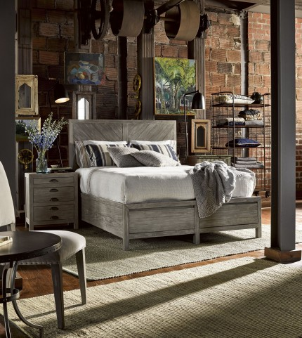 Curated Greystone Biscayne Platform Bedroom Set
