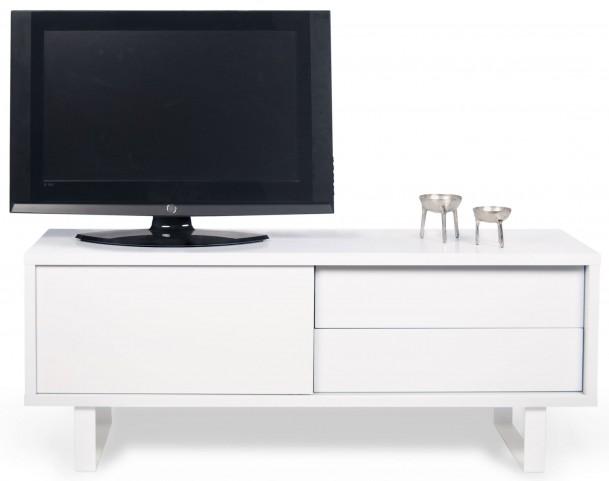 Nilo Pure White Door TV Table
