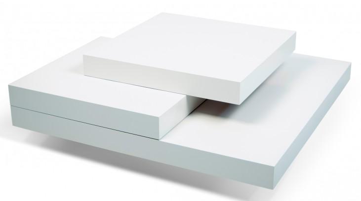 Slate Pure White Coffee Table