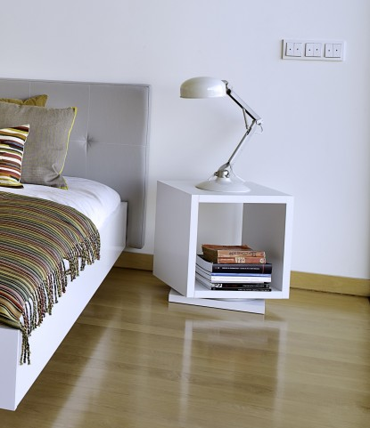 Shell White Display Shelf