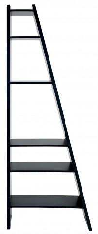 Delta Black Single Bookcase