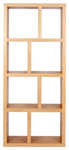 Berlin Oak 27 Inch 4 Shelf Bookcase