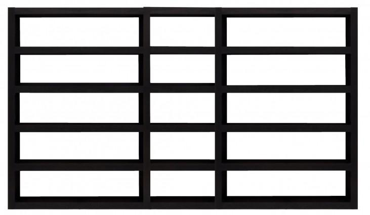 Denso Wenge 15 Shelf Bookcase