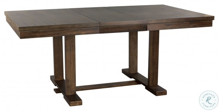 Wieland Light Rustic Brown Extendable Dining Table