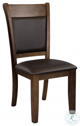 Wieland Light Rustic Brown Side Chair Set of 2