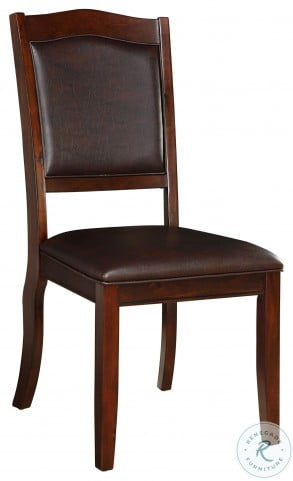 Whitby Dark Cherry Side Chair Set Of 2
