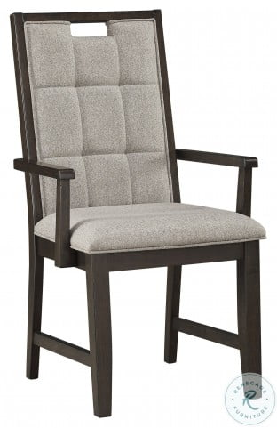 Rathdrum Dark Oak Arm Chair Set Of 2