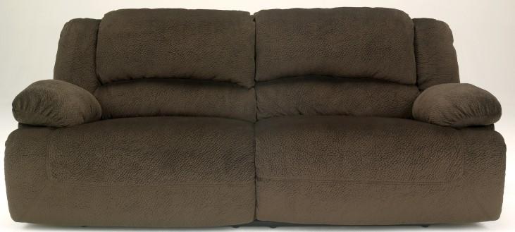 Toletta Chocolate 2 Seat Power Reclining Sofa