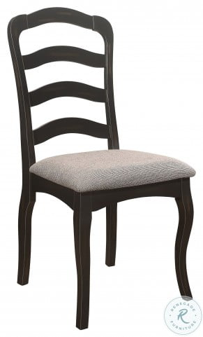 Coring Antiqued Gray Side Chair Set Of 2