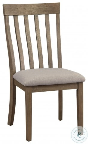 Armhurst Wire Brush Brown Side Chair Set Of 2