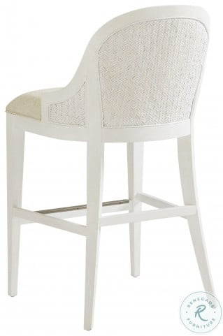 Ocean Breeze White And Gray Sawgrass Bistro Table Set