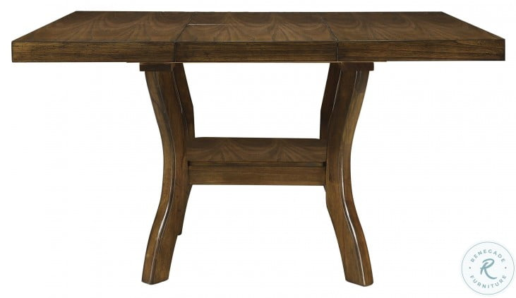 Darla Brown Extendable Dining Table