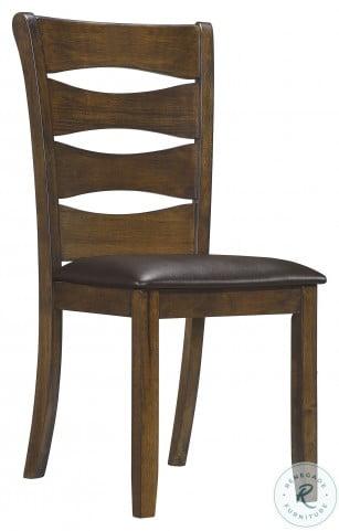 Darla Brown Side Chair Set Of 2